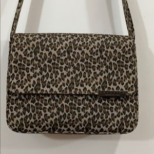 Kenneth Cole Reaction Small Leopard Print Purse